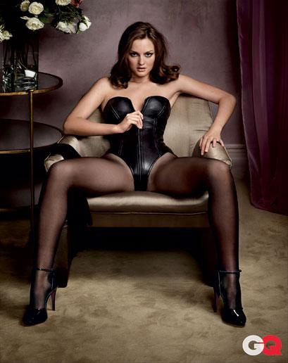 Sexteaze | Leighton Meester for GQ