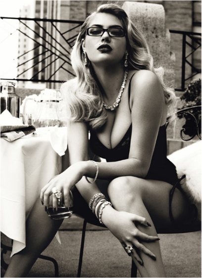 Kate Upton by Steven Meisel for Vogue Italia | Sexteaze