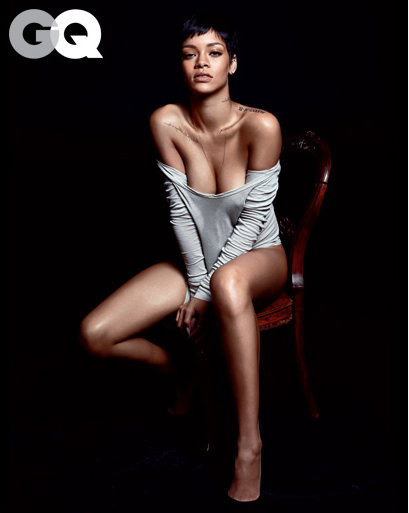 Rihanna Is GQ's Obsession of the Year | Sexteaze