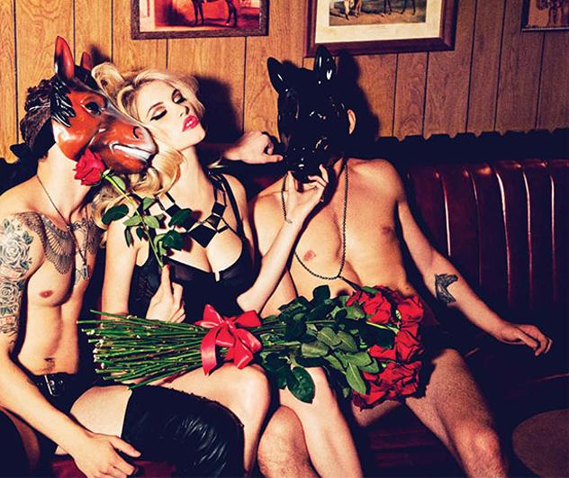 Ashley Smith for Galore Magazine #1 | Sexteaze
