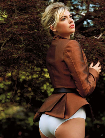 Kate Upton by Bruce Weber for Vogue Germany   Sexteaze